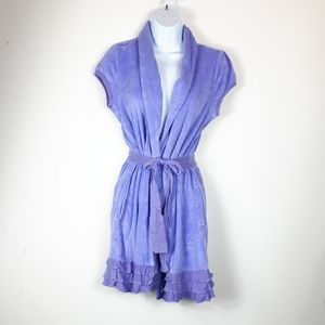 Jacob size M lilac robe.